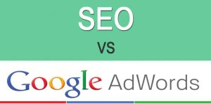 SEO vs Google Adwords 1