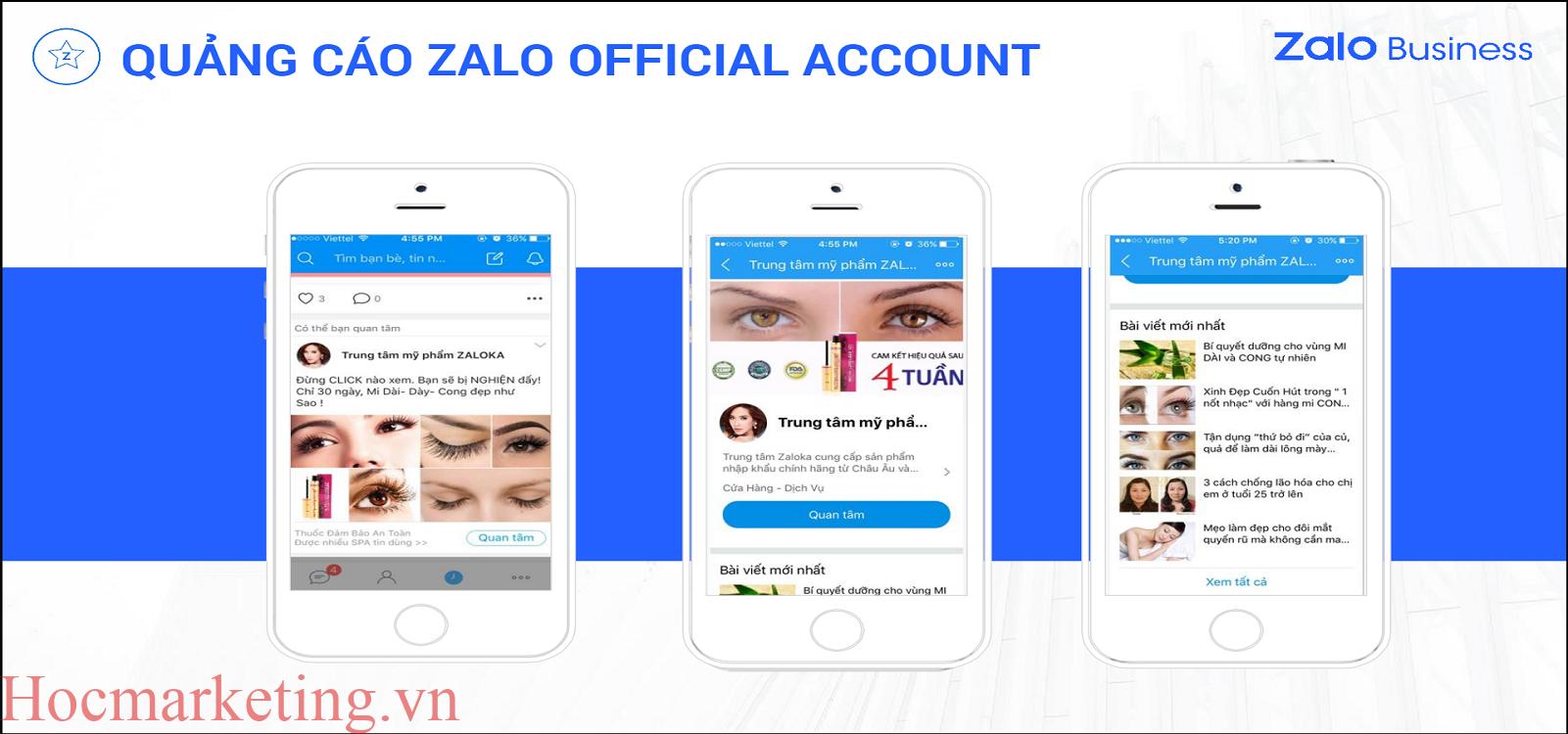 ✍ Hướng dẫn quảng cáo Zalo từ A đến Z (phần 2)