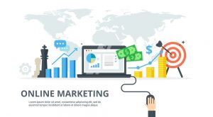 lớp học online marketing