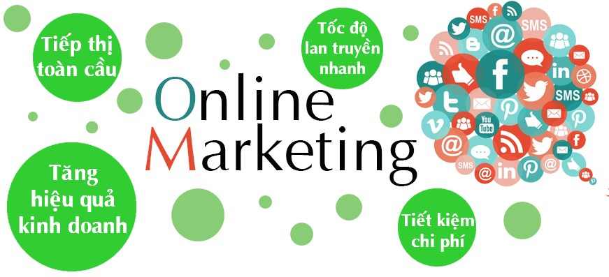 lớp học online marketing
