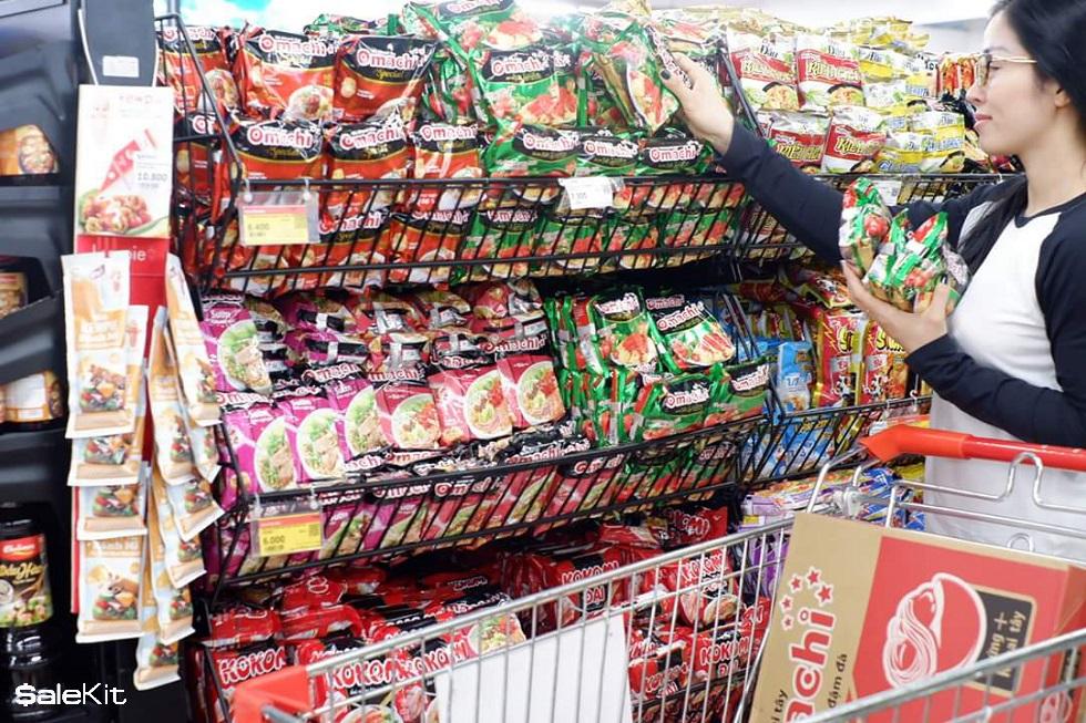 mở siêu thị mini cần bao nhiêu vốn