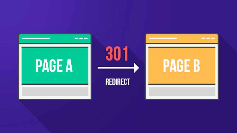 redirect khi đổi url là một kỹ thuật trong seo onpage