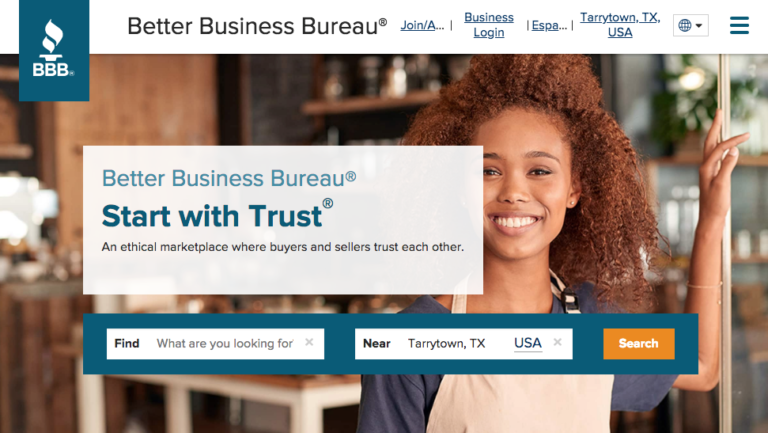 Web Directories: Better Business Bureau