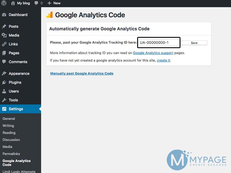 Chèn google analytics vào website bằng plugin