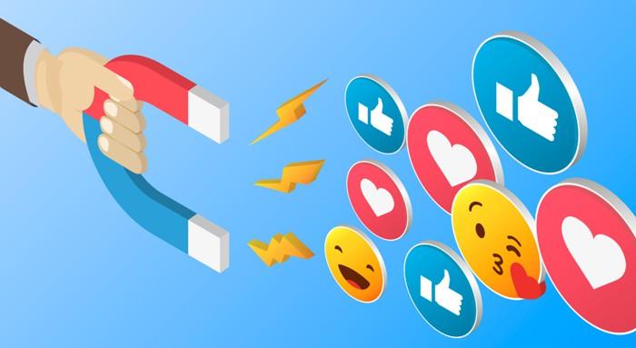 Các hoạt động mà User Engagment thực hiện trên mạng xã hội.