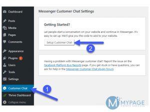 Hướng dẫn cài đặt plugin Messenger Customer Chat