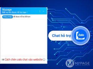 Hướng dẫn tạo hộp thoại chat zalo OA vào website