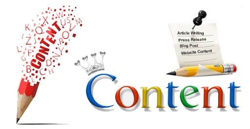 Tạo nội dung phù hợp với nội dung web và nội dung tiếp thị