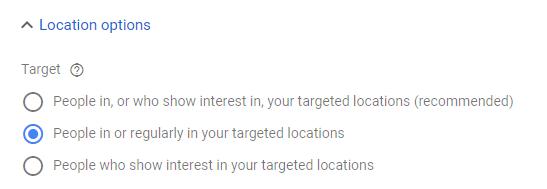 Cách cài đặt khuyên dùng theo Google