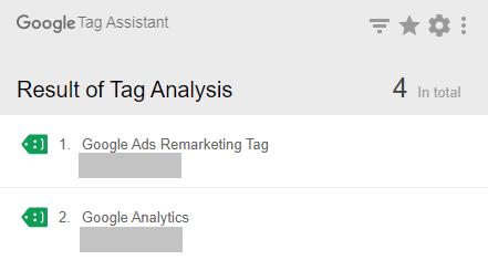 Kiểm tra Tag trên Google Ads