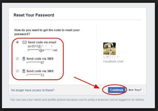 Lấy lại tài khoản facebook bằng gmail